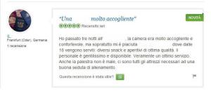 TripAdvisor recensione