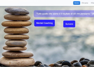 web design sito mental coach biondi