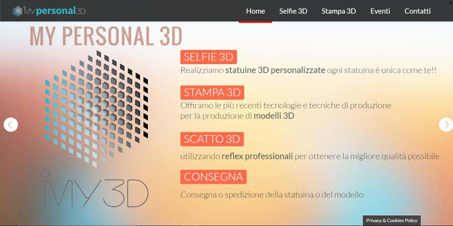 seo web design mypersonal3d