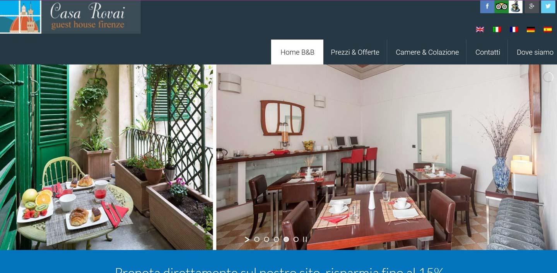 Casa Rovai Web Design e posizionamento
