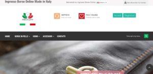ingrosso borse online e-commerce realizzazione sito posizionamento