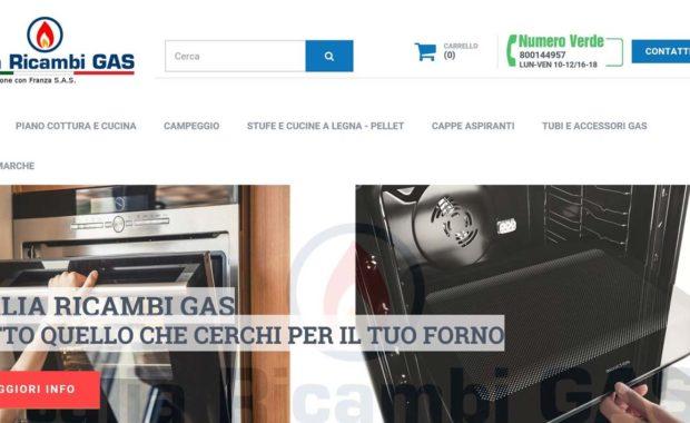Italia Ricambi Gas posizionamento sui motori seo off site