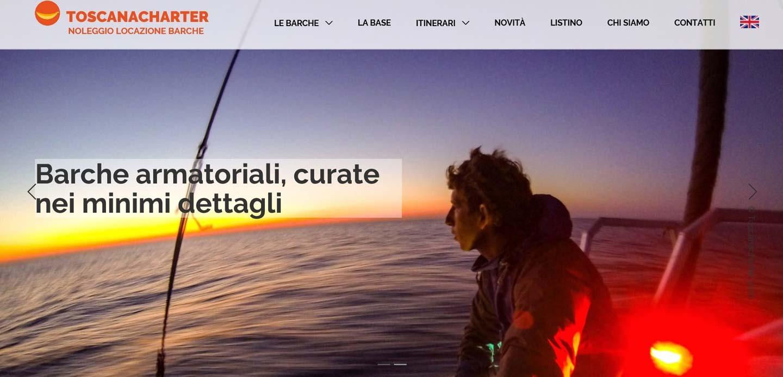 Toscanacharter web marketing e posizionamento